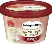 ハーゲンダッツ、異物混入で270万個自主回収 「ヨーグルト仕立て ピーチミルク」に摩耗したパッキン