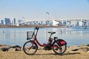 都内に激増! 34万人が使う「赤い自転車」の正体