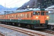引退から3か月、高崎の115系「かぼちゃ電車」は今