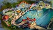 【海外ディズニー】新エリア「ピクサー・ピア」まもなく開園!前日には一夜限りの特別パーティーも