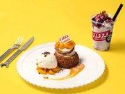 トロピカルな限定スイーツ「オープンシューサンド」&「飲むチーズケーキ」が『グロリアス チェーン カフェ』に登場