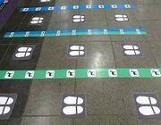 シカ、飛行機、ミカン... 大阪駅ホームに導入された「イラスト案内」がグッドアイデア
