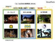 【夏休み2018】横浜「夜の動物園」ズーラシア・野毛山・金沢動物園の日程と内容