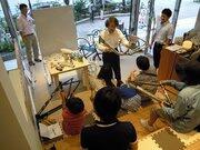 自由研究のテーマにできそう 科学技術館で「夏休み自転車教室」開催
