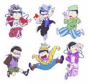 「おそ松さん」×TGCコラボ再び!描き下ろしイラスト公開
