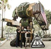 巨大ロボ「MegaBot Mk.II」が「クラタス」との日米ロボ決戦に向け資金調達開始!NASAにも協力要請へ!