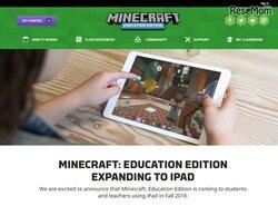 画像:教育版マインクラフト、9月よりiPad向けアプリ提供