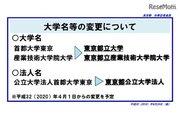 「在学生・卒業生に対する配慮を最優先」に…首都大、東京都立大学へ名称変更