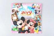 【ディズニー】2019年実写カレンダー発売!壁掛け&卓上タイプ、スケジュール帳も