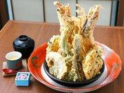 ガッツリ食べたい! 東京の絶品デカ盛り「天丼」5選