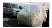 災害対策に豪雨から車を守るカバーが人気