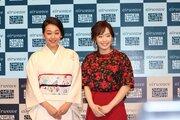 浅田真央、ドレス姿の石川佳純を気遣う 「ヒール履いてるので、捻ったらどうしよう」