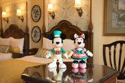 【ディズニー】お泊りの記念にぴったり!ホテル宿泊者限定のぬいぐるみセットが新登場