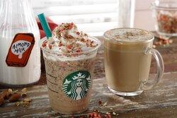 画像:スタバから新作フラペ「アーモンド ミルク & グラノラ フラペチーノ」が登場 濃厚で香ばしいアーモンドとコーヒーのハーモニー