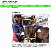 兵庫県の高校生が放課後に育てた牛が品評会で最優秀賞に 「神戸ビーフ」のA5ランク
