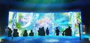 八景島シーパラダイスが最新イルミネーションで幻想的な水族館に 「楽園のアクアリウム2015 WINTER」開催