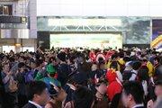 ハロウィン渋谷で「MARVEL」イベント 「MARO」コラボを最速体験