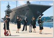 海上自衛隊×ガールズバンドが謎コラボ 写真集「Gacha 呉」の絵ヂカラがすごい