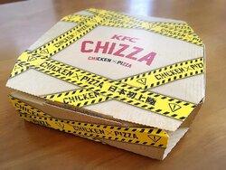 画像:食べ応えバッチリ、意外にもカロリーは低め? KFC「CHIZZA(チッザ)」を食べてみた