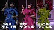 Perfume史上初! 世界3都市で同時パフォーマンスに挑戦