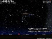 2018年「しし座流星群」見頃は11/18未明から明け方