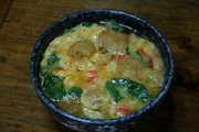 「ご当地麺」全国ナンバーワンはどこ? ダークホースなるか、東京・満留賀「えび玉うどん」