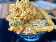 丸亀製麺で最高の贅沢!? 「かけうどん」に天ぷら全種類をのせてみた