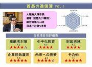 自治体リーダーの「評価」を点数に 独自インタビューも掲載「首長の通信簿」