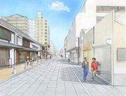 博多の道が石畳風に! 福岡市「旧市街」プロジェクトを発表