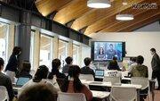 国際高専1年生「Skype-a-Thon」に参加、マイクロソフト副社長と対話授業