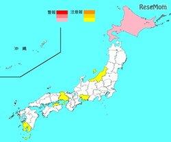 画像:【インフルエンザ18-19】全国的に流行シーズン突入、最多は香川