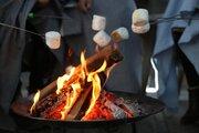 チーズやマシュマロに海鮮...オフィス街の「焚き火」で食べる専門店