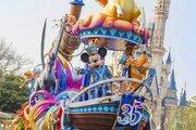 【ディズニー】いよいよ祝祭は最高潮へ!35周年グランドフィナーレ動画公開